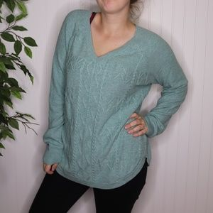 Sonoma Cable Knit Sweater Size M